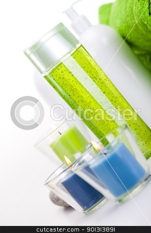 Spa still life  stock photo, Wellness and spa concept. by Sebastian Duda