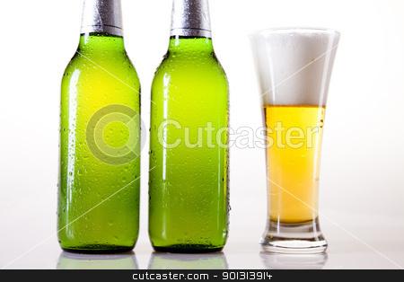 Beer stock photo, Beer collection, glass in studio. by Sebastian Duda