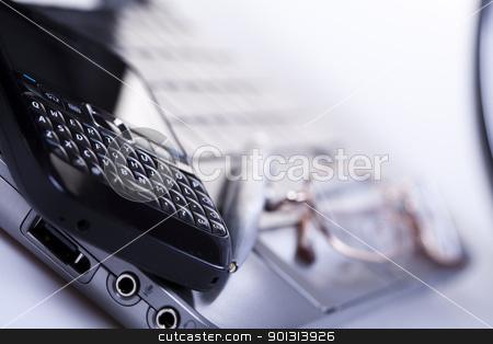 Computer background stock photo, Computer background.  by Sebastian Duda