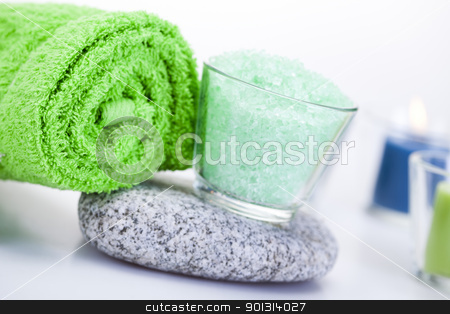 Spa background stock photo, Wellness and spa concept. by Sebastian Duda