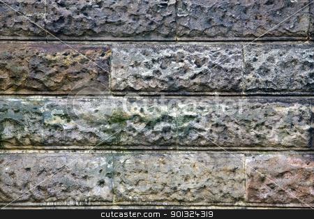 Old brick wall stock photo, Old brick wall by Ingvar Bjork