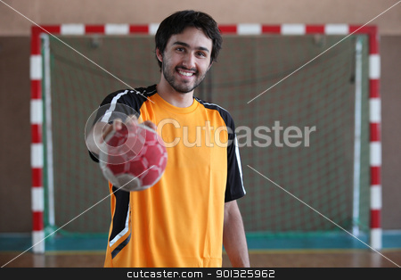 player holding ball stock photo, player holding ball by photography33