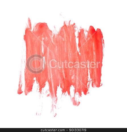 Red Water Color Paint Texture  stock photo, Red Water Color Paint Texture  by Evgeniy Krivoruchko