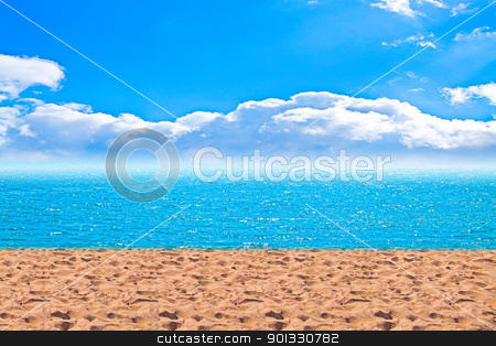 Summertime at the beach stock photo, Summertime at the beach by Evgeniy Krivoruchko
