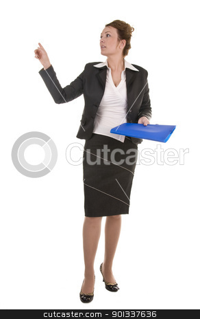 Mature And Confident Business Woman stock photo, Portrait of mature and confident business woman by Iryna Rasko