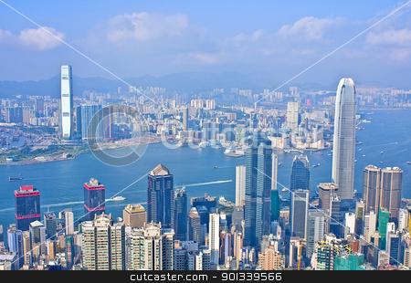 hongkong stock photo, hongkong at day by Keng po Leung