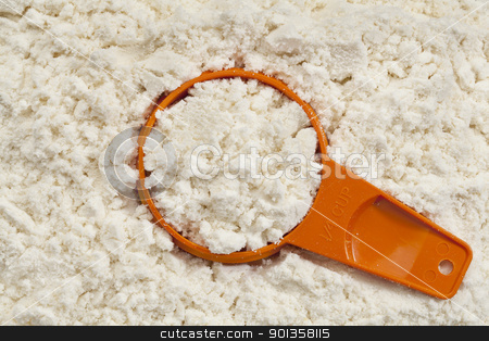 whey protein powder scoop stock photo, background and measuring scoop of white  whey protein isolate powder by Marek Uliasz