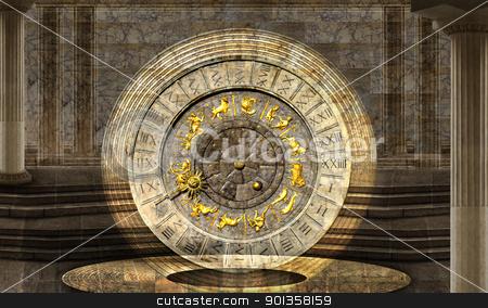 The vault of Time stock photo, Timeless vibration by Desislava Draganova