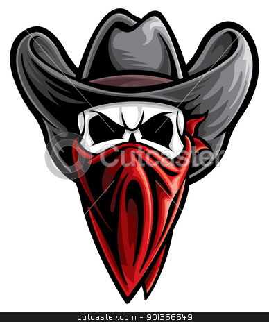 Outlaw stock vector clipart, Outlaw by SlipFloat