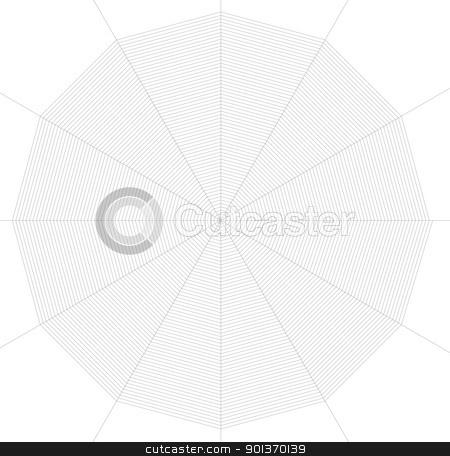 frontal spiderweb illustration stock photo, illustration of a frontal spiderweb in black back by prill
