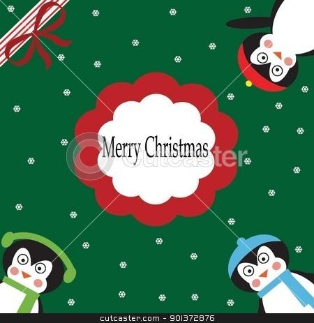 merry christmas stock photo, merry christmas winter snow  by tijana90