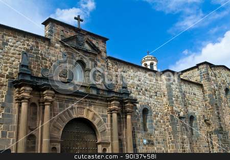 Cusco church of Santo Domingo stock photo, The