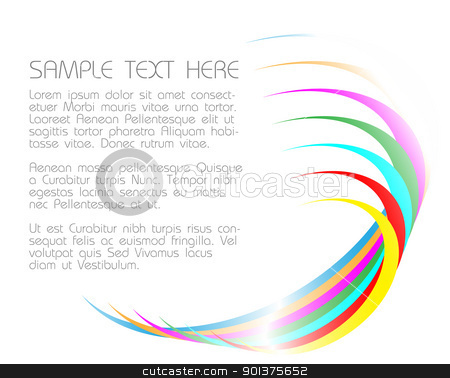 abstract light background  stock vector clipart, abstract light background with colorful circles by orson