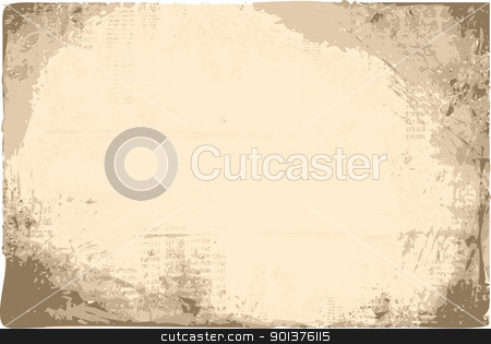Vector grunge background stock vector clipart, Vector grunge background by orson