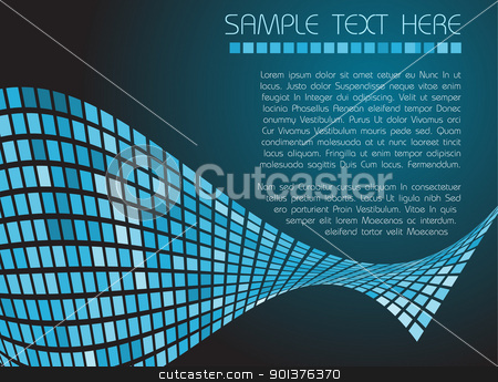 Abstract background  stock vector clipart, Abstract background made from squares by orson