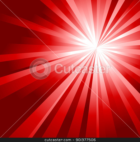 Abstract red background  stock vector clipart, Abstract red background made from gradient stripes by orson