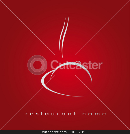 Logo Cooking stock vector clipart, Logotype for restaurant, fast food, cuisine by tristanbm