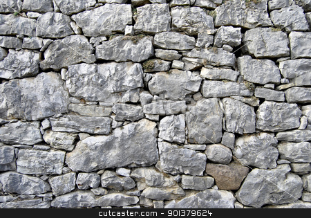 the wall stock photo, wall made from rock by freeteo