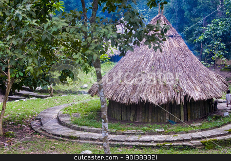 Indian house stock photo, Indian house in