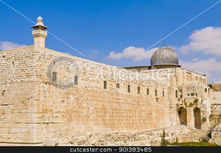 Jerusalem old city  stock photo, the old city of jerusalem in israel by Kobby Dagan