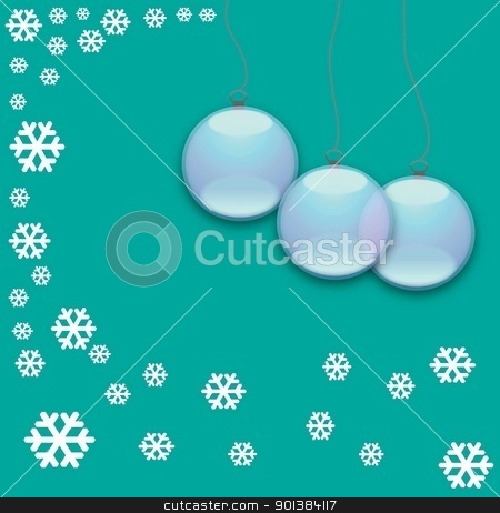 blue stock photo, abstract art background ball blue celebration christmas clip cold color culture curve  by tijana90