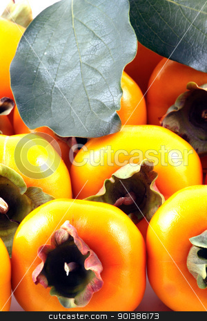 Persimmon stock photo, Persimmon by Nenov Brothers Images
