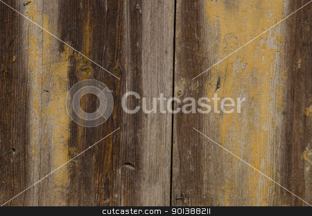 Old wooden wall fragment texture background. stock photo, Old wooden wall fragment with interesting texture and surface background.  by sauletas