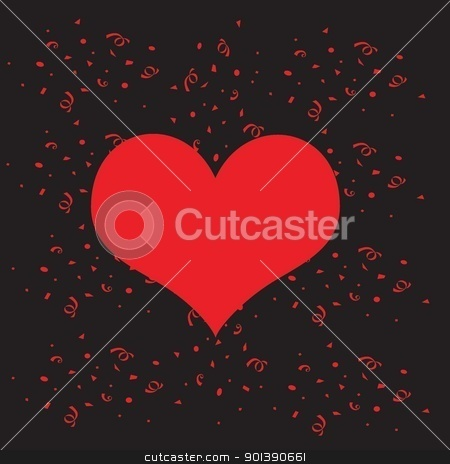 heart stock photo, valentine, romantic, love, pattern, print, logo, icon, heart, amor, art, colored, colors, Curl, curve, decoration, design, digitally, elegance,  by tijana90