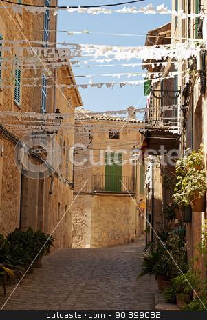 Valldemossa stock photo, Valldemossa , village and municipality on the island of Majorca, part of the Spanish autonomous community of the Balearic Islands by Valentyna Chukhlyebova