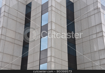 high rise modern building facade stock photo, High rise modern building facade architectural detail. Abstract background. by sirylok