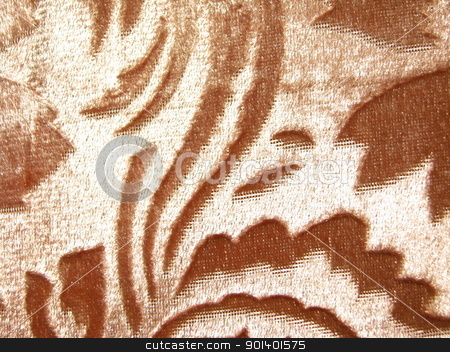 jalousie stock photo, The brown pattern on the textile by Velza19880