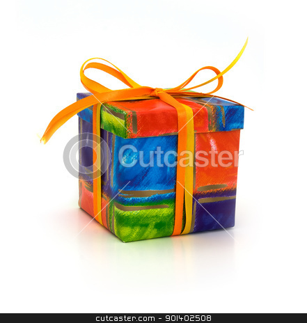 Gift box stock photo, Gift box by vtorous