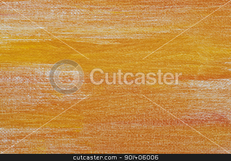 orange and yellow canvas texture stock photo, orange and yellow abstract texture painted on  white artist canvas by Marek Uliasz