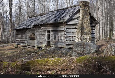 Historic house in Smoky Mountains  stock photo, Historic house in Great Smoky Mountains National Park  by Henryk Sadura
