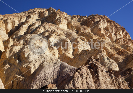 Golden Canyon Death Valley National Park California stock photo, Rocky Golden Canyon Death Valley National Park California by William Perry