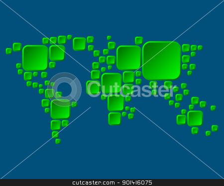 World map stock photo, World map by Robert Biedermann