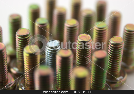 Metal bolts stock photo, Metal bolts by vtorous