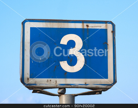Road sign stock photo, Road sign by vtorous