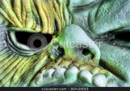 Monster Face stock photo,  by Svilen Andreev