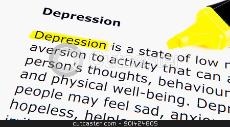 Depression stock photo, Depression by Nenov Brothers Images