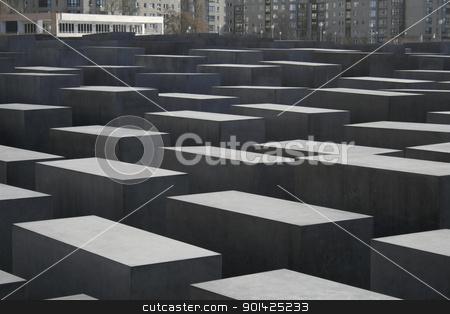 jewish memorial stock photo, jewish memorial, berlin, germany by Paul Prescott