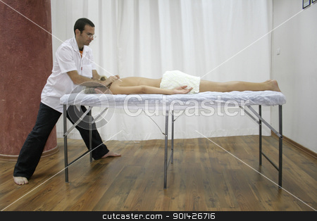 chinese medicine treatment stock photo, chinese medicine treatment by Paul Prescott