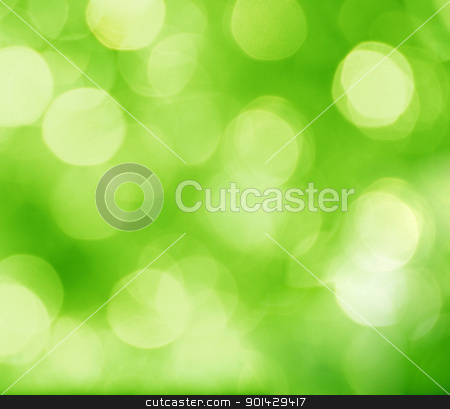 abstract green background stock photo, abstract green background with blurred circles by sutike