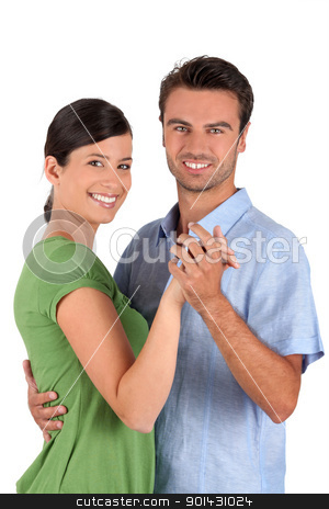Couple dancing together stock photo, Couple dancing together by photography33