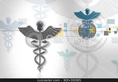 Symbol of medicine stock photo, Symbol of medicine by dileep