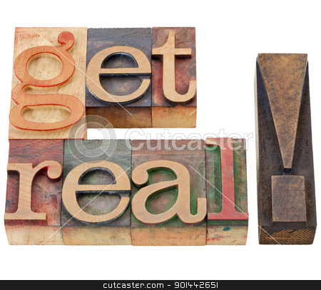 get real suggestion stock photo, get real suggestion or request - isolated text in vintage wood letterpress printing blocks by Marek Uliasz