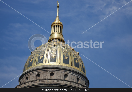 State Capitol Building in Charleston stock photo, State Capitol Building in Charleston, West Virginia by Henryk Sadura