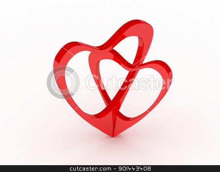 Valentine's Day card  stock photo, Valentine's Day card  by dacasdo