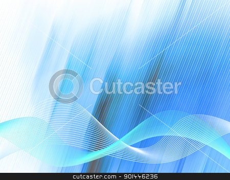 Wave style background stock photo, Abstract background for you design (raster pattern) by Imaster
