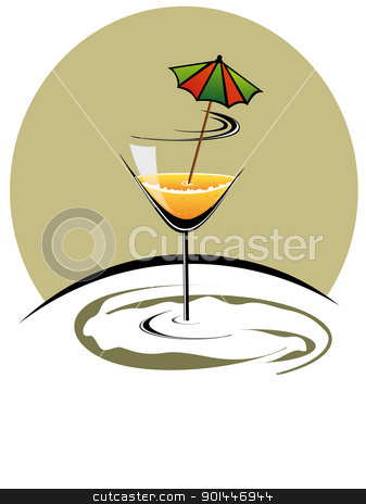 vector illustration for new year celebration stock vector clipart, cocktailglass with new year celebration 2012 by Abdul Qaiyoom